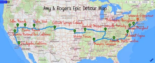 amy & rogers epic detour map