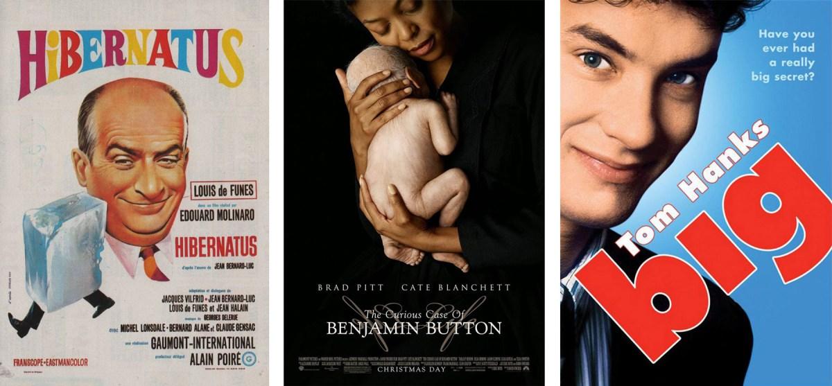 Trois affiches de film