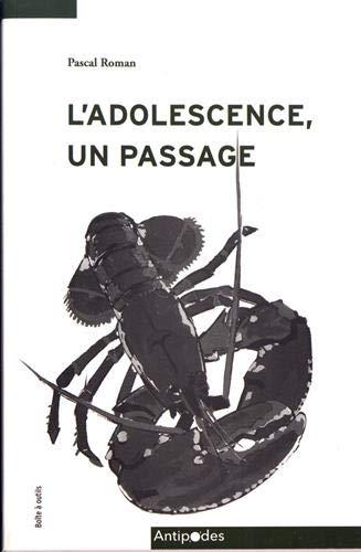 Couverture d'un livre sur l'adolescence