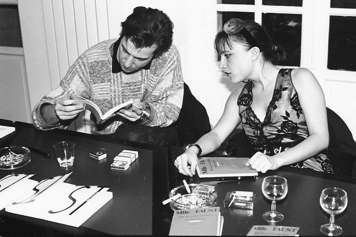 Véronique Emmenegger et Jacques Barbaut