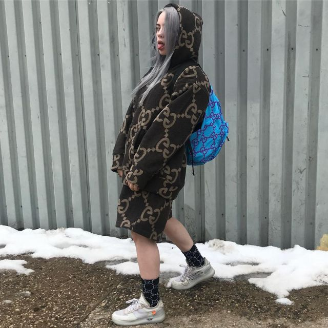 Billie Eilish en baskets