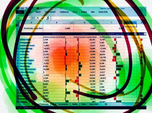 Excel Data Bars