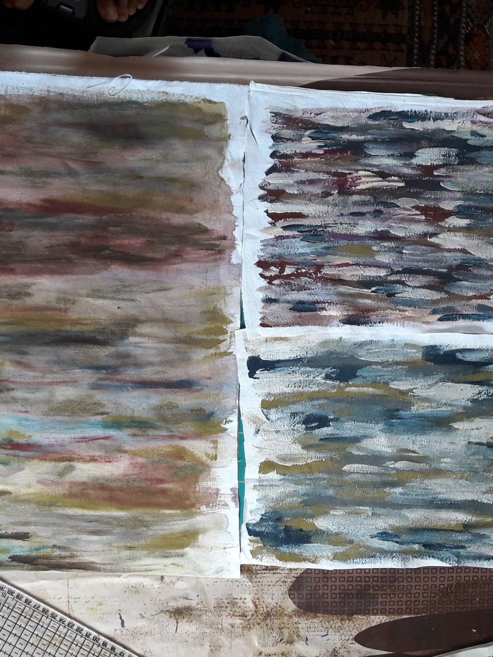 Peinture 3 morceaux