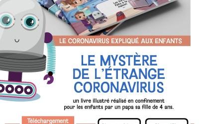 Livre audio » Le mystère de l'étrange Coronavirus»