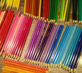 tekenen kleurpotlood