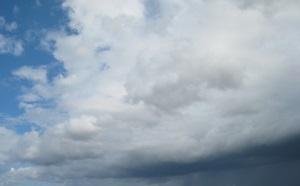 wolken regen