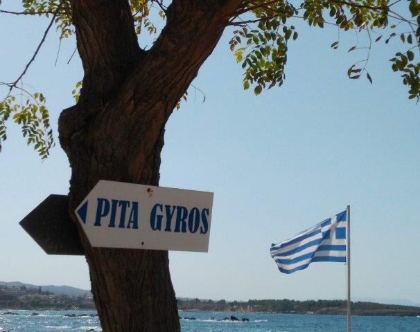 pita gyros is daar