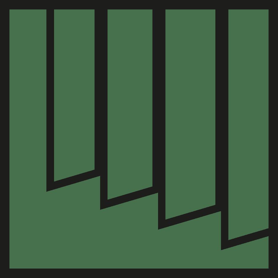 símbolo cortinas verticales verosol negro