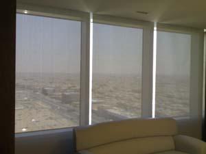 Proyecto Kingdom centre verosol cortinas enrollables