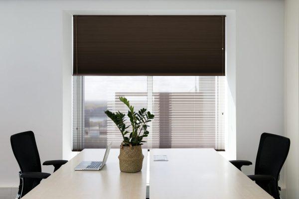 cortina plisada verosol oficina verocel