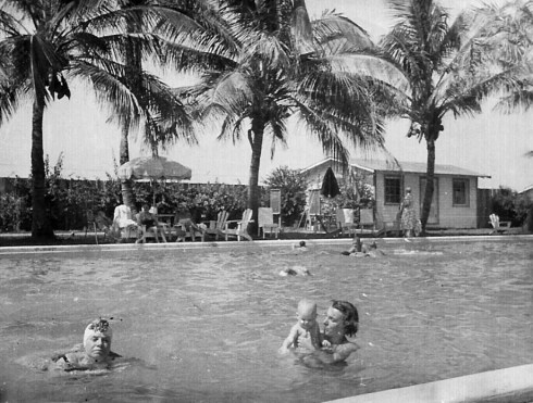 Doris and Alice pool Windswept Hotel a
