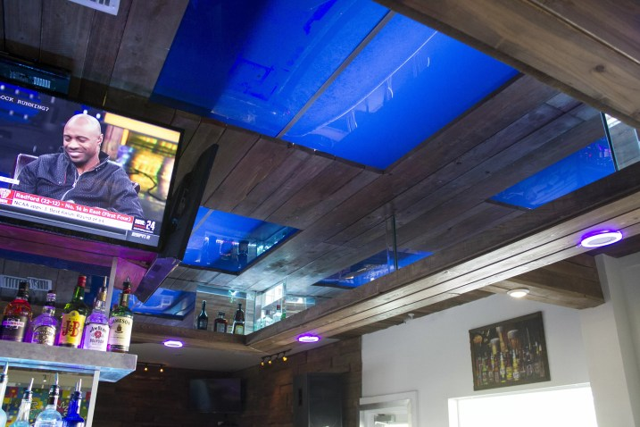 Ceiling of the Bar