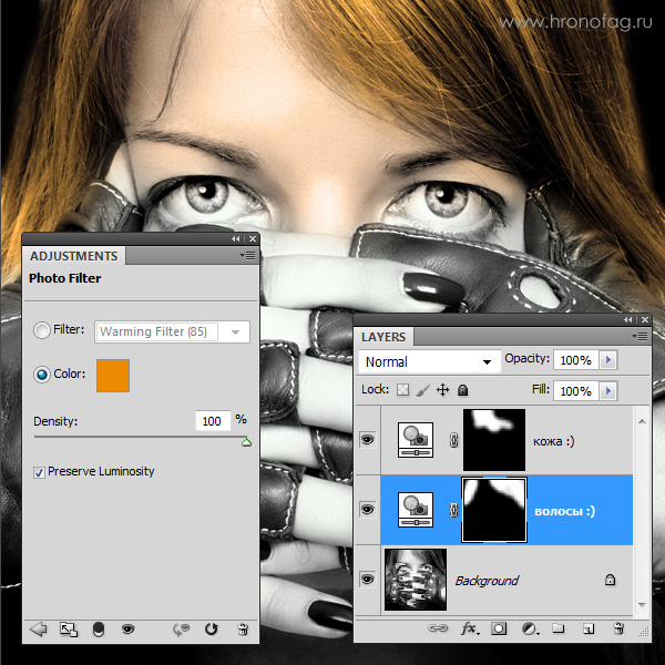 Как сделать фото цветным в Фотошопе | verovski