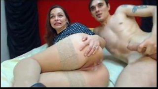 Tremendo Culo de Esta Madura Por Webcam