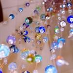 détailde la pluie de perle