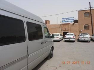 Yazd Silk Road Stellplatz