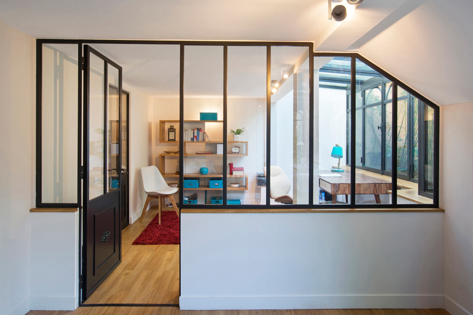 Une Verrire Atelier Pour Sparer Un Bureau Ou Un Espace
