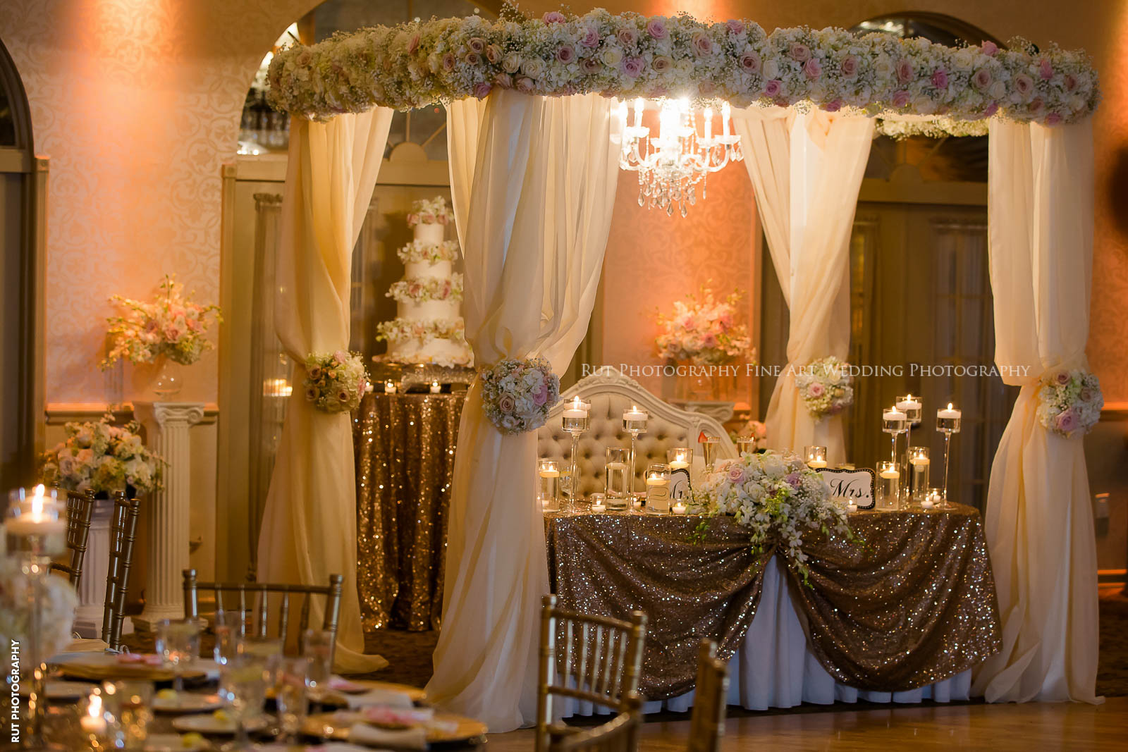 Old Hollywood Glam Wedding Style And Decor Ideas