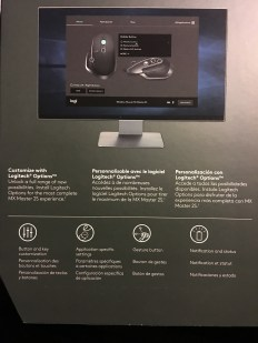 Logitech Master MX 2S - Back Of Box