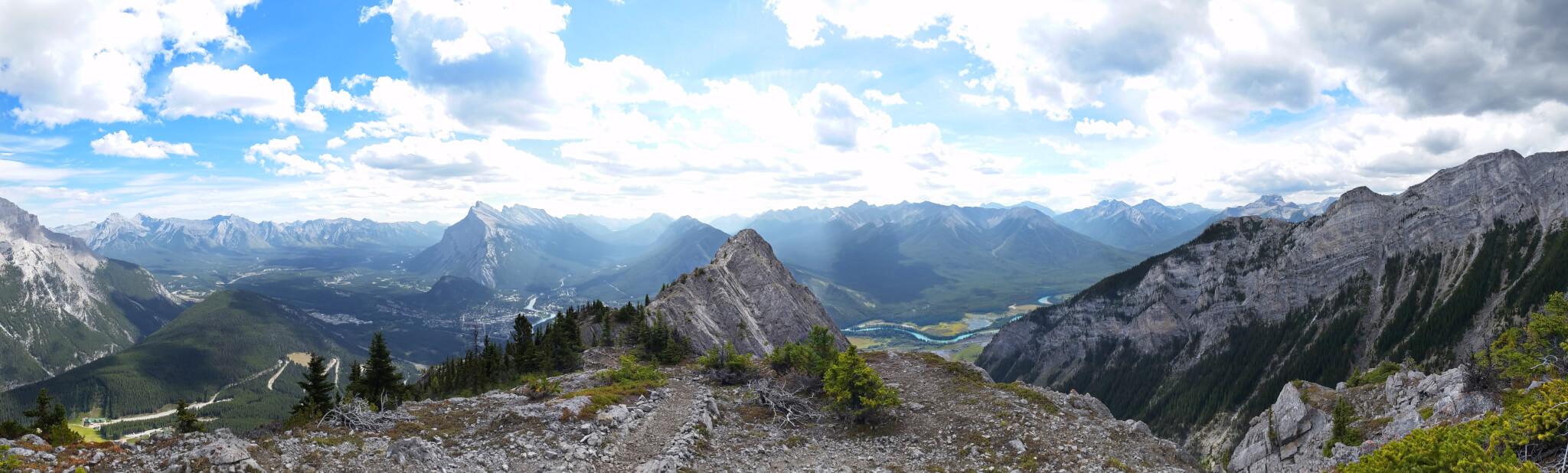 Nos images en Via Ferrata à Norquay, Banff qui ont été publié sur le site de Nomade Magazine