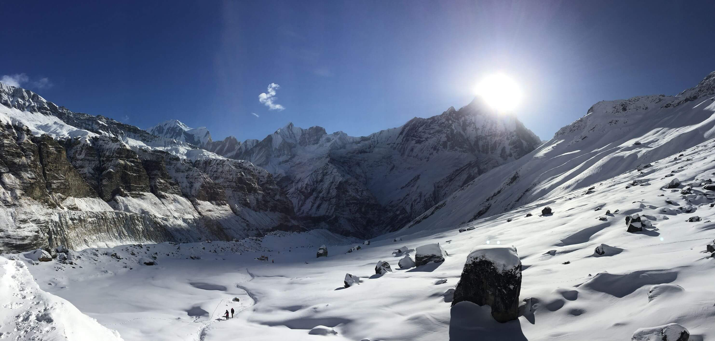 Photo de Annapurna par Marina Maillé pour son article Topo 5 destinations à voir en Asie