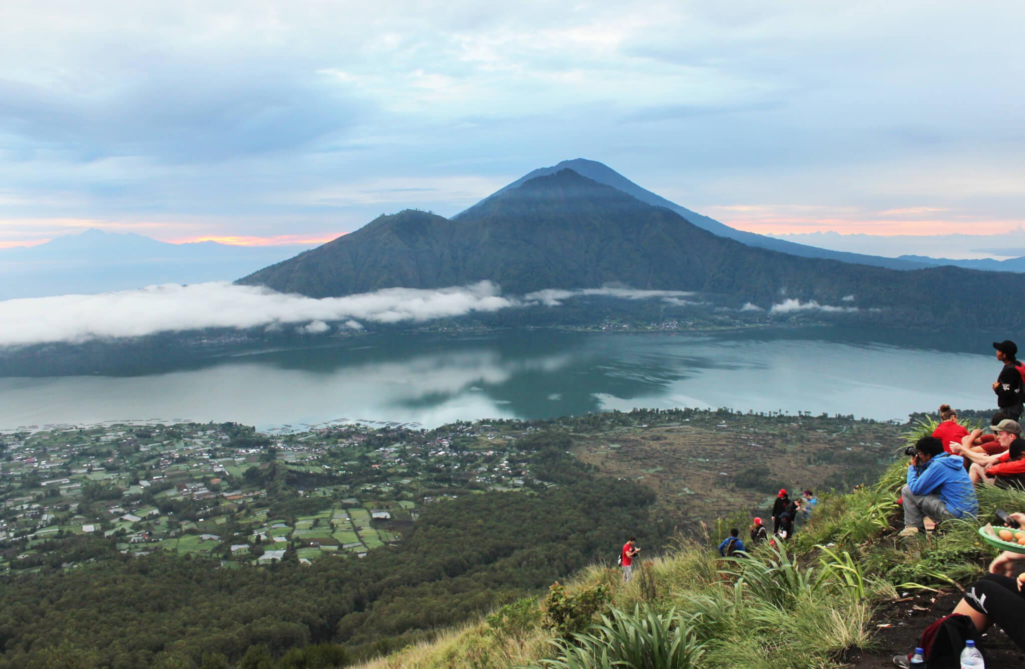 Image du Batur en Indonésie pour notre article Top 3 – Rando à découvrir sur 3 continents