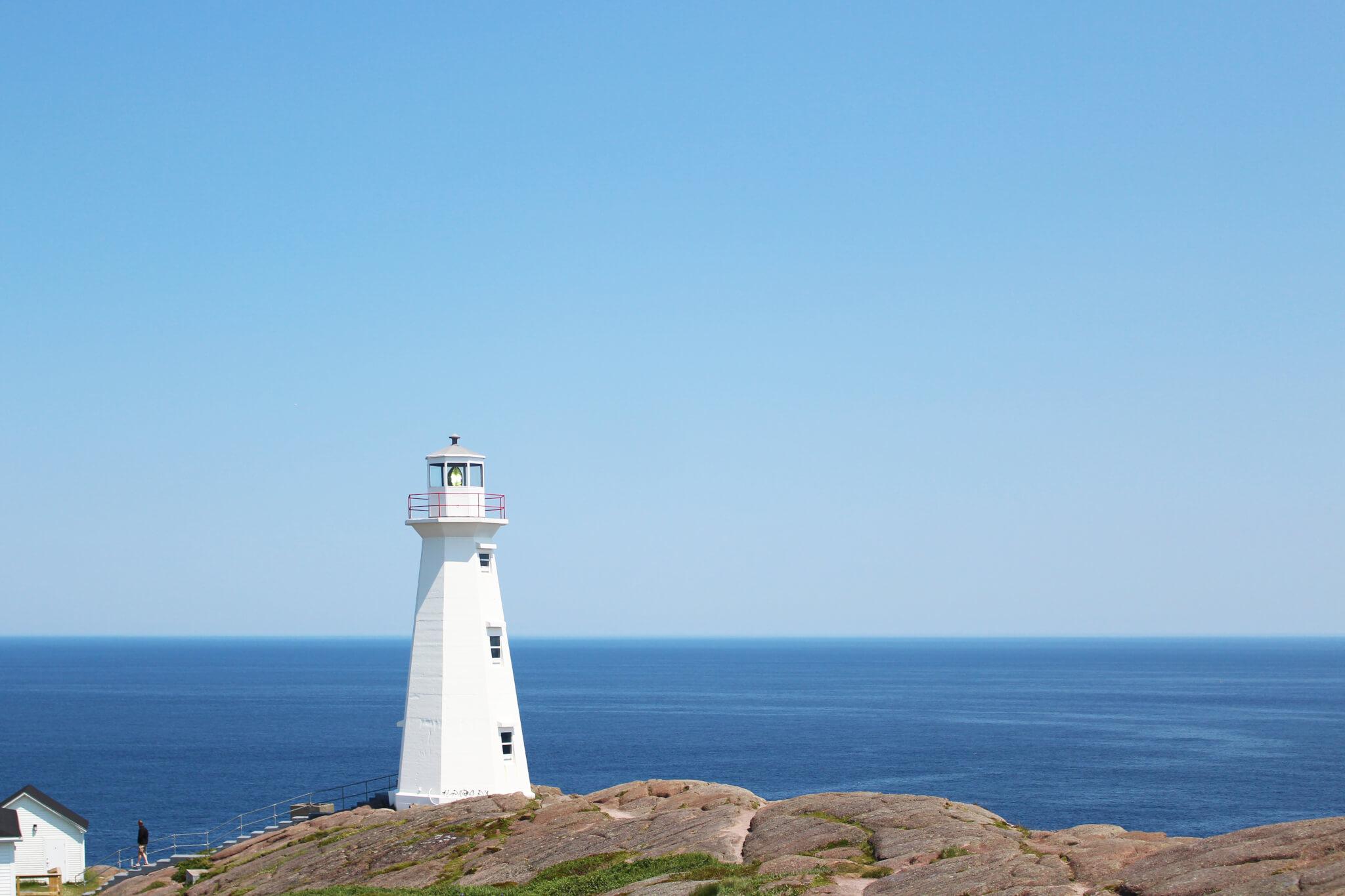 Image à Cape Spear pour notre article Randonnées de rêve à Terre-Neuve