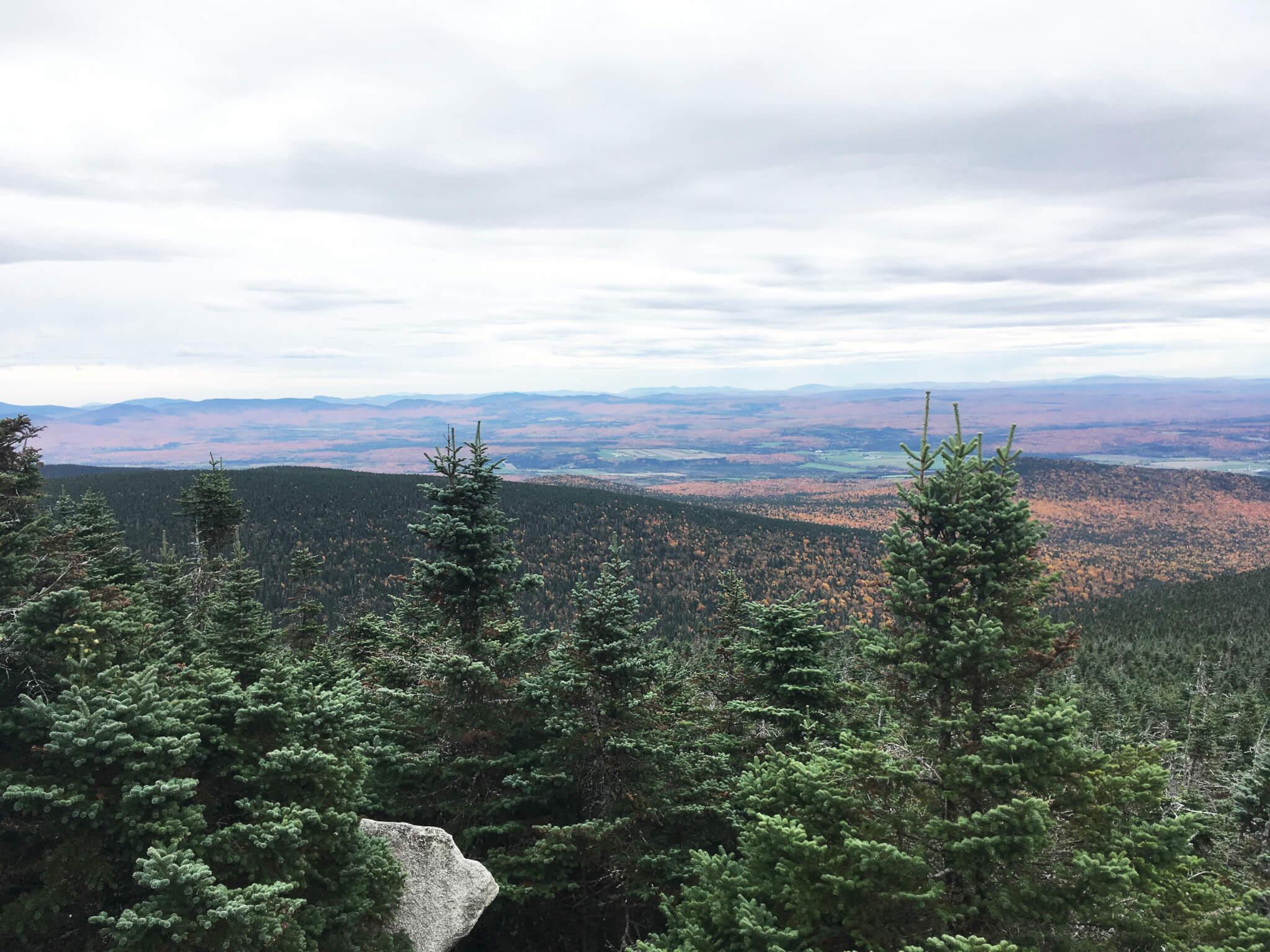 Photo au Mont Mégantic pour notre article Top 5 randos moins achalandées au Québec