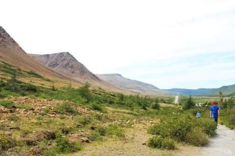 Image à Tablelands pour notre article Randonnées de rêve à Terre-Neuve