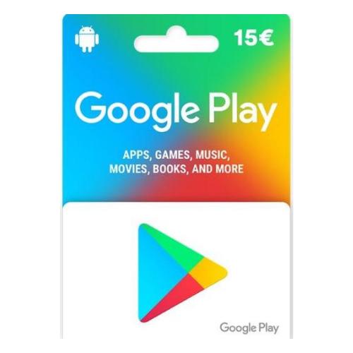P - 15 Euros Google Play Store