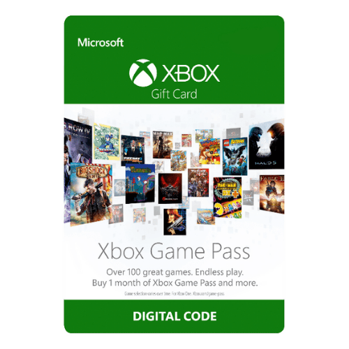 P- XBOX Game Pass 1 MÊS