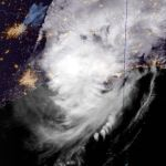 Update...Hurricane Delta Moves Ashore