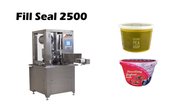 Fill Seal 2500 Liquid Fill Seal Machine
