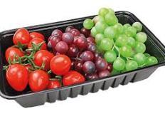 Fruit black tray