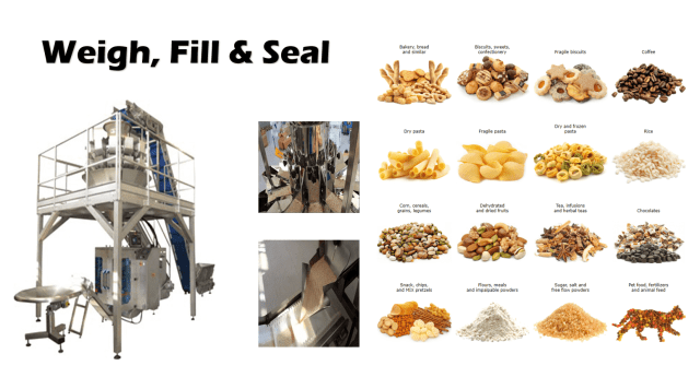 Weigh Fill & Seal Machinery