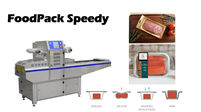 FoodPack Speedy Tray Sealing Machine