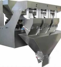 Linear Weigher with timer hopper