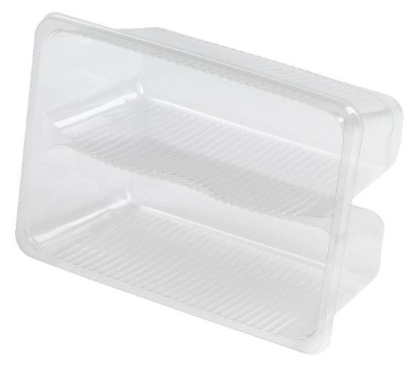 Anson 2 compartment Clear Tray