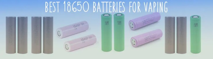 Best 18650 Batteries Banner