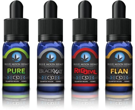 Blue moon CBD vape oil