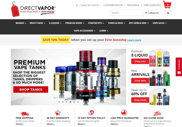Best Online Vape Stores 2019 - The Lowest Prices & Fastest Shipping