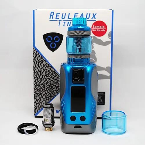 Wismec Reuleaux Tinker Kit Review Triple 18650 Mod, Fires Up
