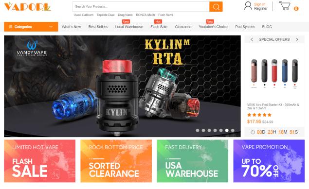 Vaporl Best Online Vape Store