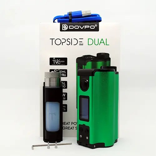 Dovpo Topside Dual Review — The Best Dual Battery Squonk Mod?
