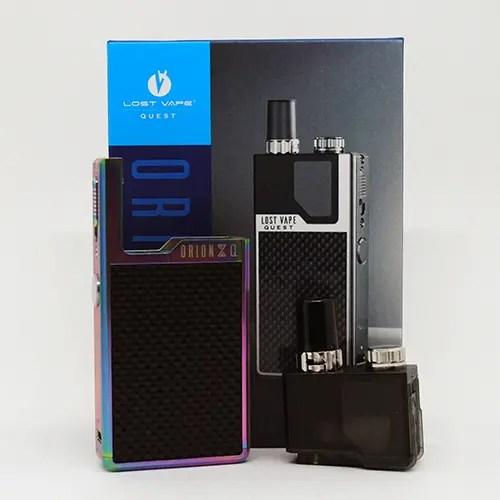 Lost Vape Orion Q Box Contents