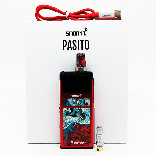 Smoan Pasito Box Contents