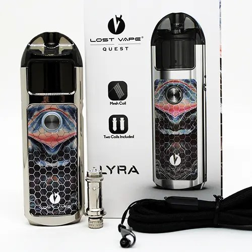 Lost Vape Lyra Box Contents