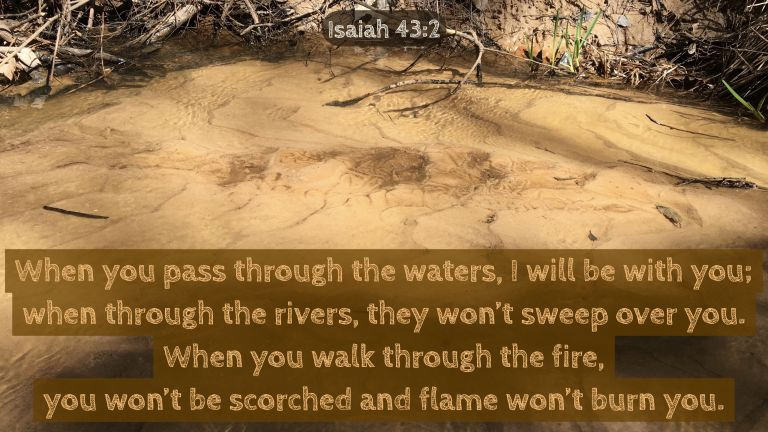 Verse Image for Isaiah 43:2 - 16x9
