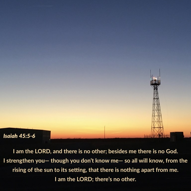 Verse Image for Isaiah 45:5-6 - 1x1