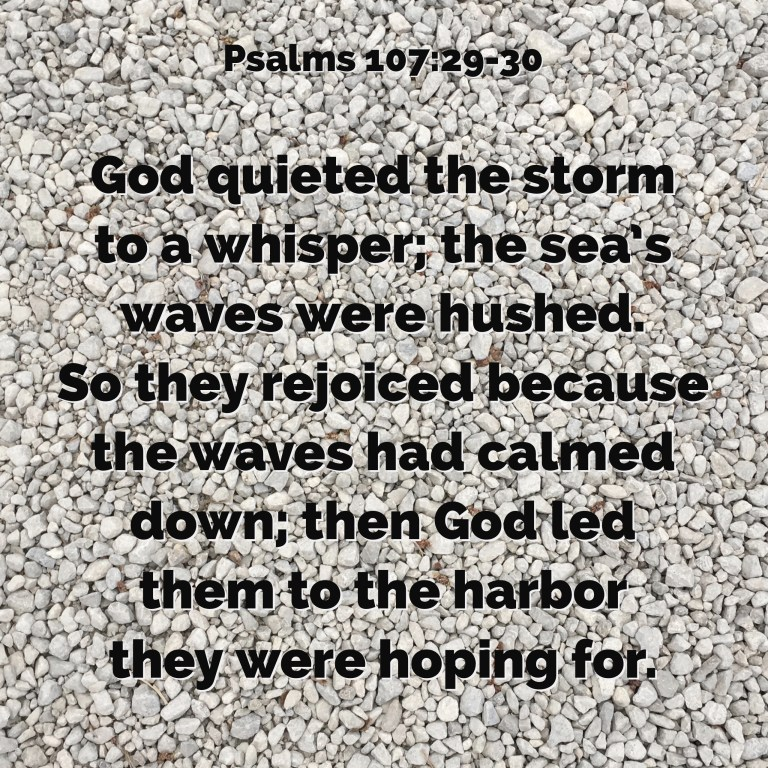 Verse Image for Psalms 107:29-30 - 1x1